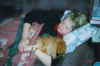 Carolyn and Furball '99