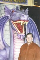 James and a Dragon in Vegas '99
